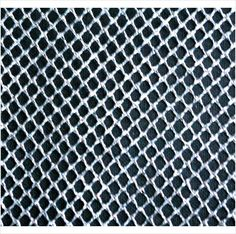 """Med hole size Silver net fabric material, 25"""" X 58"""""""" Lot # 6 on eBid United Kingdom. 60p"""