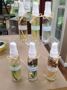 Homemade facial mists freakin LOVE these, no joke