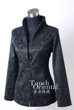 Oriental Chinese Evening Party Blazer Jacket Coat Blouse TL58