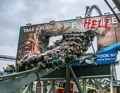 The swarm in thorpe park,  love this ride ao much, first winged coster in the uk,  and the first one you can now ride backwards, best of the uk!