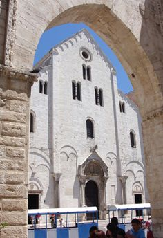 San Nicola Basilica in Bari,  Apulia region, on the Adriatic Sea, in Italy.