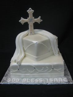 religious wedding cakes | Showers/Religious - CUSTOM CAKE BOUTIQUE