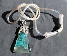 Unique, handmade jewellery from pewter and glass - made in Cyprus