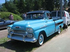 1958 Chevrolet Apache Cameo pickup truck | Flickr - Photo Sharing!