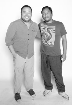 David Chang and David Choe