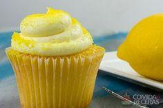 Receita de Cupcake de limão com buttermilk em receitas de bolos, veja essa e outras receitas aqui!