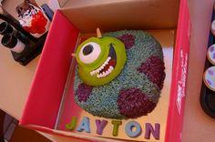 My Monstersinc creation Birthday cake