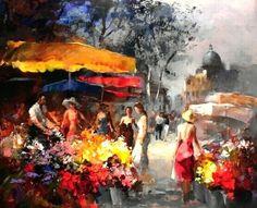 Светлая живопись Виллема Хенретца (Willem Haenraets)