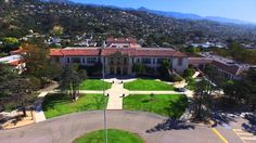 Santa Barbara High Santa Barbara, California, Mansions, House Styles, Home Decor, Decoration Home, Manor Houses, Room Decor, Villas