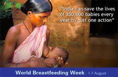 World Breastfeeding Week #breastfeeding #news #india