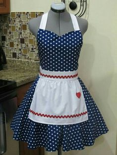 Lucy type apron
