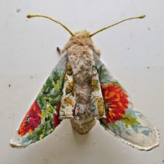 Artistic Inspiration ~ The Textile Art Of Mr Finch