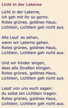 Laternenlieder Hl Martin, Martini, Love You, Songs, Learning, School, German, Montessori, November