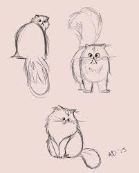 Resultado de imagen para drawings of persian cats