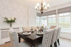 The Grant, Site 6 Fairfields, Lisburn #forsale #lisburn #northernireland #diningroom #designspiration Kids Play Area, Dining Bench, Dining Rooms, Property For Sale, Luxury Homes, Living Spaces, House Design, Modern, Interior Ideas