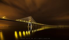Ponte Vasco da Gama at Night #1 by Ricardo Bahuto Felix on 500px