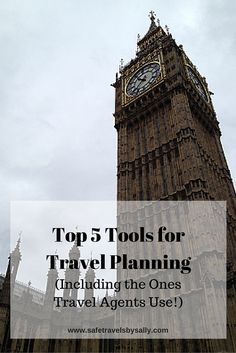 If you want to learn how to plan your next trip like a pro, take it from me (a travel agent!). Click through to access the Top 5 Tools for Travel Planning (Including the Ones Travel Agents Use!) and start planning today with these easy resources.