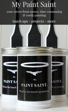 My Paint Saint - makes painting a breeze! Visit my blog for the GIVE AWAY &/or Click to buy one here: https://www.kickstarter.com/projects/641229707/my-paint-saint