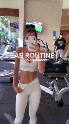 Summer Body Workouts, Full Body Gym Workout, Slim Waist Workout, Gym Workout Videos, Gym Workout For Beginners, Fitness Workout For Women, Butt Workout, Gym Workouts, Everyday Workout