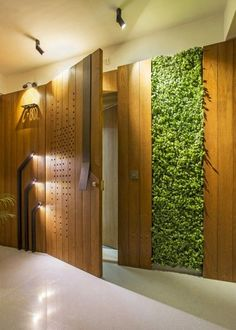 Tejas Mistry and his team of architects have created an outstanding design th. Discover home, office, shop interior design, hotel & restaurants-bar decor inspirations. Main Entrance Door Design, Home Entrance Decor, Entrance Foyer, Front Door Design, House Entrance, Modern Entrance Door, Office Entrance, Home Decor, Door Design Interior
