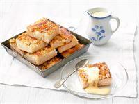 Munaton omenapiirakka Swedish Recipes, Sweet Pie, French Toast, Candy, Baking, Breakfast, Desserts, Food, Pastries