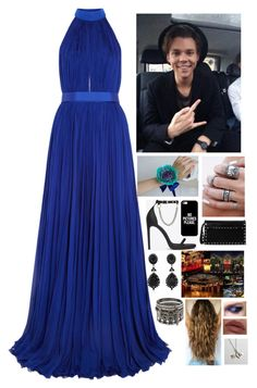 Prom With Ashton by mary-5so1ds on Polyvore featuring polyvore, fashion, style, Valentino, Givenchy, Alexander McQueen, Yves Saint Laurent, Rachel Pfeffer, Casetify and LORAC