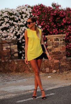 Kenza Zouiten - Black & Yellow