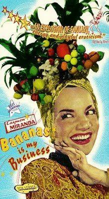 Carmen Miranda in fruited headdress Carmen Miranda, Havana Nights Party, Brazilian Samba, Club Tropicana, Alice Faye, Rita Moreno, Tropical, Hollywood Star, Classic Hollywood