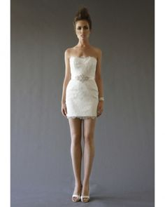 Cocoe Voci Short Wedding Dress