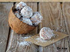 Pecan Coconut Balls Recipe by @draxe