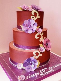 60th Birthday Cake, via Flickr. Breathtaking.