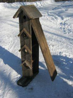 3 ft. tall bird house