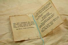 Wedding Invitation Set of 20 Vintage Book Invitation, Bridal Shower, Anniversary, Pride and Prejudice, Anne of Green Gables. $80.95, via Etsy.