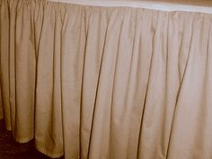 Solid Peach Colored Bedskirt (in all sizes from twin to cal-king also in crib size and daybeds with many custom skirt drop lengths) Dust Ruffle, Ruffles, Ruffle Bed Skirts, Long Curtains, Types Of Beds, Peach Colors, Pillow Shams, Cribs, Daybeds
