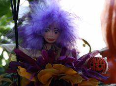Flower Fairy Art Doll Fairy Ornament Collectible Woodland