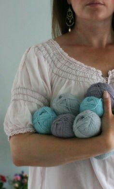 Drops Baby Alpaca silk - lovely colors