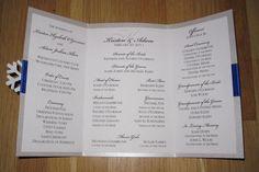 DIY Ceremony Program - DIY Wedding Program | Wedding Planning, Ideas & Etiquette | Bridal Guide Magazine