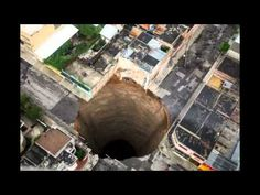 ▶ Sinkholes around the world attributed to Strange sounds. - YouTube