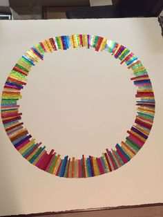 Forming art work from recycled confectionery and chocolate wrappers. Rowntrees Fruit Pastilles, Modern Art, Contemporary Art, Quality Street, Square Art, Confectionery, Recycling, Abstract Art, Chocolate