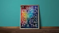 This item is unavailable Lyric Art, Music Lyrics, Music Music, One Star, Green Day, Constellations, Wall Prints, Printable Art, My Etsy Shop