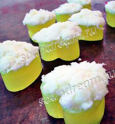 Мыло и сахарный скраб - два в одном «Лаймовая свежесть»