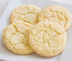 Receta de galletas de limón sin mantequilla   Recetas para niños