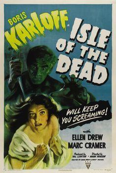 Boris Karloff In Isle Of The Dead Movie Poster