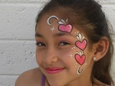 Face Painting Designs, Body Painting, Fantasy Make Up, Heart Face, Make Up Art, Painting Videos, Face Art, Little Princess, Face And Body