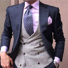 Men's Pocket Square Inspiration #2 I recently... | MenStyle1- Men's Style Blog