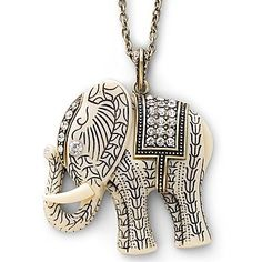 Decree® Fashion Jewelry, Elephant Necklace - jcpenney