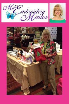 Embroider Buddy interviews Deborah Jones of My Embroider Mentor