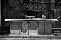 One of the 3 large altars, Duomo, Milano, Italy by The Art of Creativity Studio