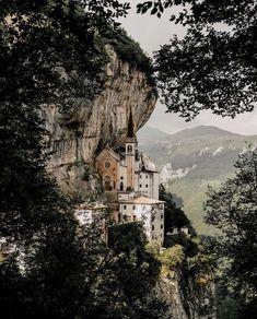 Madonna Della Corona, Spiazzi, Italy #visitingitaly #VisitingItaly