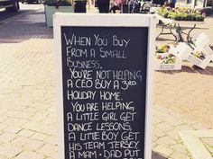 Forget Black Friday, think of Small Business Saturday and support your Main Street